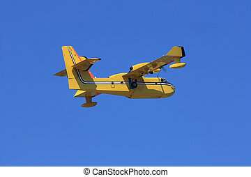 Search and rescue aircraft - Special model aircraft used for...