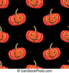 Seamless halloween pattern.