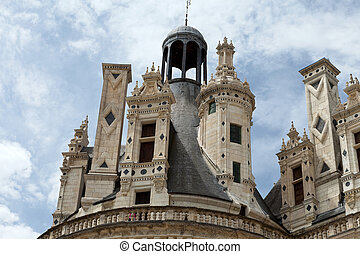 Castle of Chambord in Cher Valley, France - Castle of...