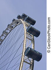 Singapore Flyer, ferries wheel - The Singapore Flyer, a...