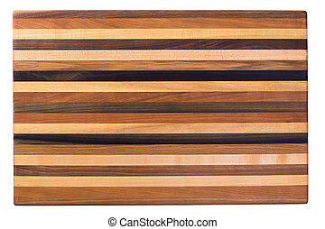 Multicolor Wooden Cutting Board - Multicolor wooden cutting...