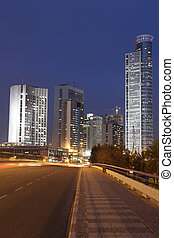 Ramat Gan City - The modern buildimg in Ramat Gan city More...