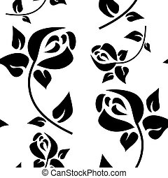 Seamless pattern in the style of Art Deco