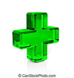 Health Icon isolated on a white background