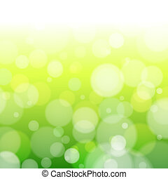 Beautiful spring forest bokeh Vector background