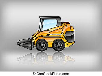 reflect excavator