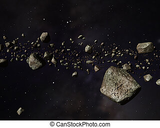 Kuiper Belt - Thousands of asteroids in a far off orbit...