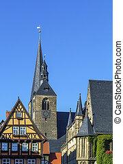 Marktkirche in Quedlinburg, Germany - Marktkirche in...