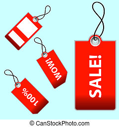 Sales Tages - Sales tags jpeg illustration