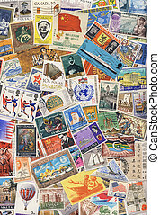 World Postage Stamps - Stamp Collecting - Postage Stamps of...