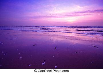 sunset background - beautiful sunset background