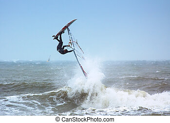 extremo, windsurfing