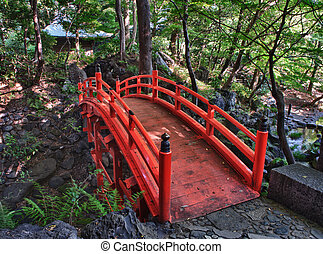 Tsutenkyo Bridge - Beautiful Tsutenkyo Bridge in the...