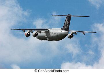 plane - Plane on takeoff