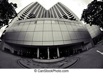 Office buildings in Sigapore