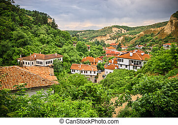 Melnik in Bulgaria - old vineyard town