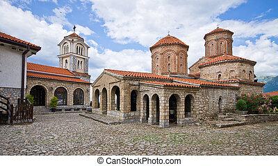 St Naum monastery near Ohrid, Macedonia - St Naum monastery...