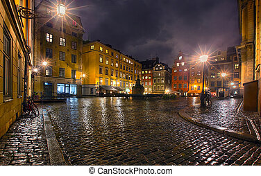 Stockholms old city