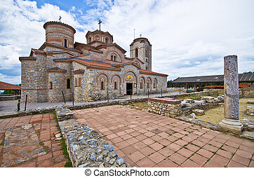 Saint Clement's church in Ohrid, Macedonia - Saint Clement's...