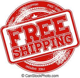 free shipping grunge stamp vector - free shipping grunge...