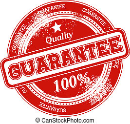 guarantee grunge stamp vector