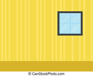 Room - Cartoon Background Vector - Drawing Art of Room -...