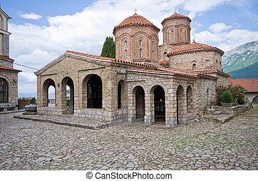 St. Naum monastery near Ohrid, Macedonia - St. Naum...