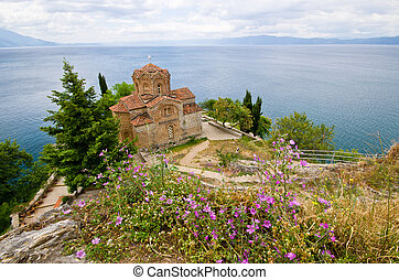 St Jovan Caneo church in Ohrid, Macedonia - St Jovan Caneo...