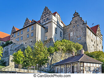 Castle in Quedlinburg, Germany - Castle in Quedlinburg...