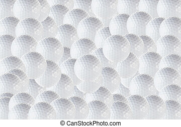 Golf Background - Golf ball background