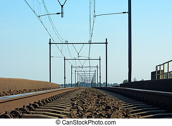 Railway - A railway in the netherlands