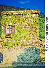 Castelvecchio di Rocca Barbena retro looking - City of...