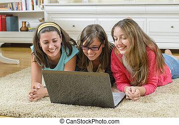 Spending Time on Laptop - Spending time on laptop together...