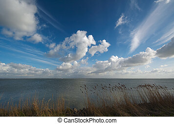 Water and clouds - Beautiful clouds and water