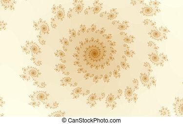 Fractal background - Spiral background