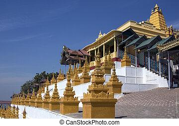 U Min Thonze Cave - Sagaing - Myanmar - U Min Thonze Cave -...