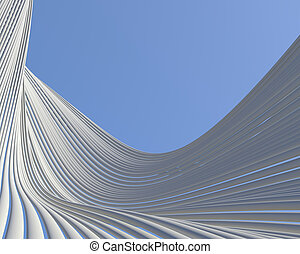 Creative architectural background Abstract geometrical...