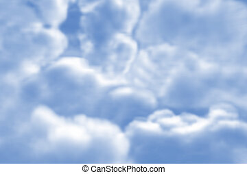 Fluffy clouds - Rendered Fluffy clouds