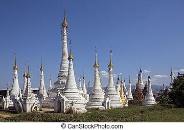 Ywama Paya - Inle Lake - Shan State - Myanmar - Ywama Paya...
