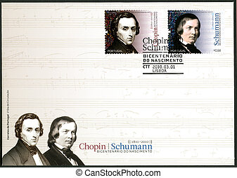 portugal, -, 2010:, Dedicado, Robert, Schumann(1840-1893),...