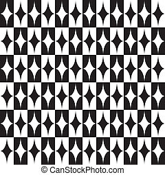 Seamlees Abstract Monochrome Background - Vector Seamlees...