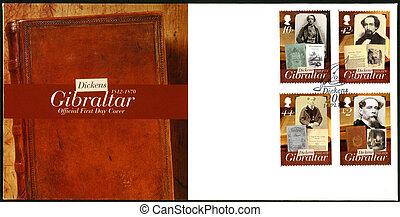 GIBRALTAR - CIRCA 2012 : A stamp printed in Gibraltar shows...