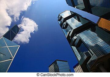 Skyscraper in the Hong Kong