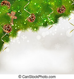 Merry Christmas greeting card Vector eps10 illustration