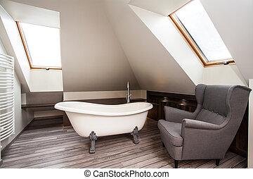 Country home - bathroom interior - Country home - interior...