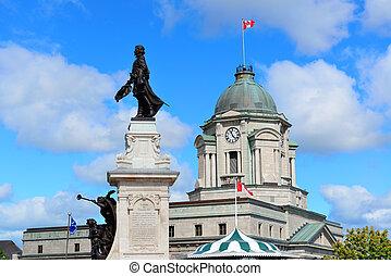 Statue in Quebec City