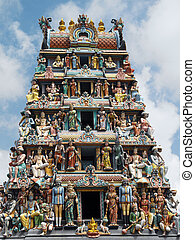 Sri Mariamman Hindu Temple - Singapore - The Sri Mariamman...