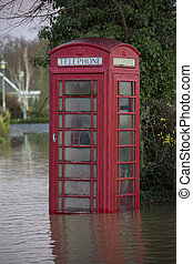 Yorkshire Flooding - England - Flooding after the River...