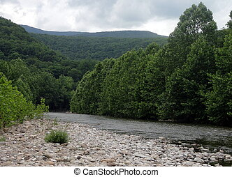 West Virginia River - River in Southern West Virginia
