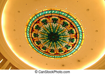 Ceiling - Circle color ceiling
